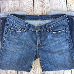 Citizens of humanity cropped jeans size 29